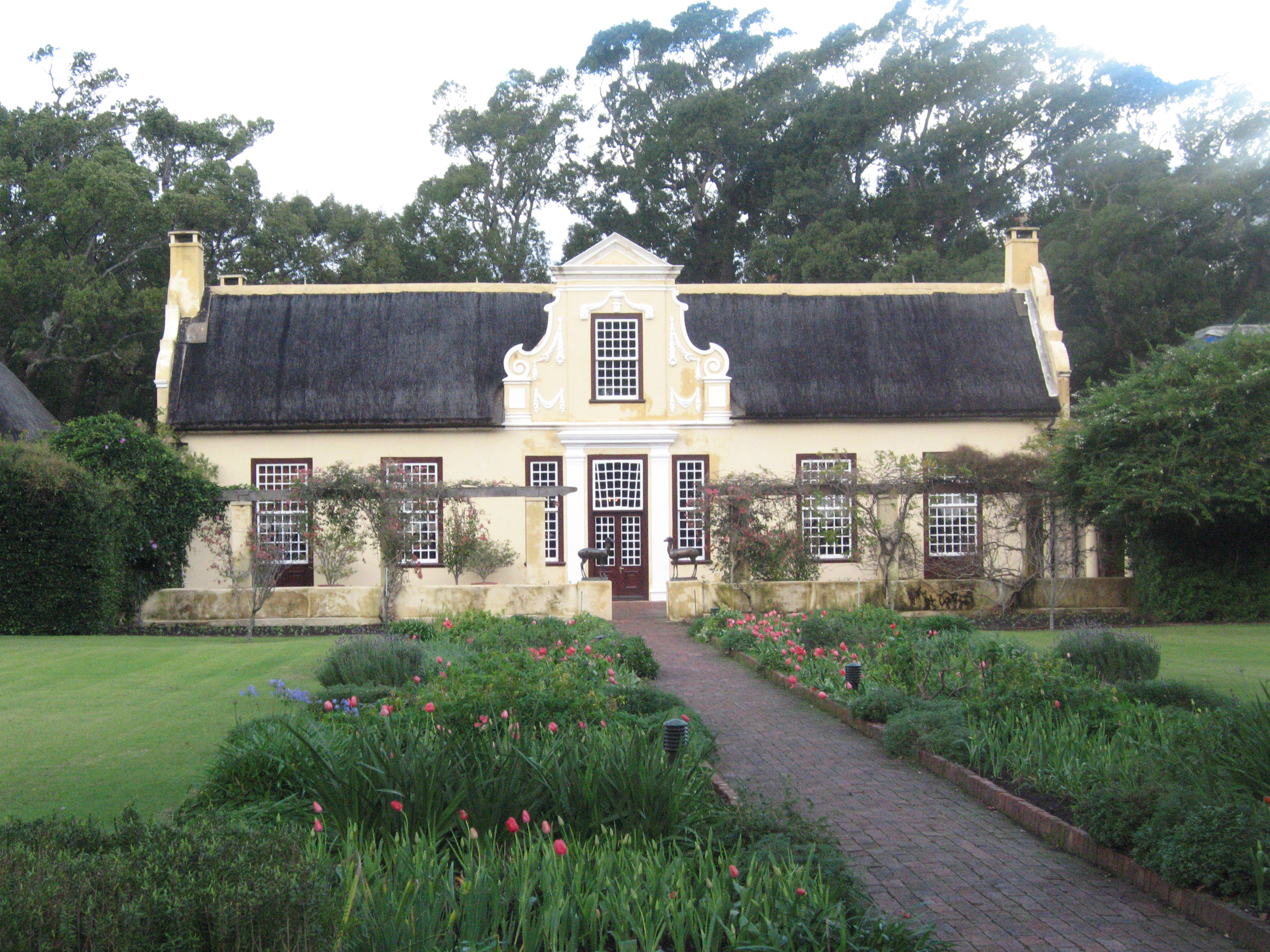 Cape Dutch Architecture Photos