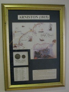 Information board about the Arniston