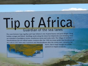 The tip of Africa