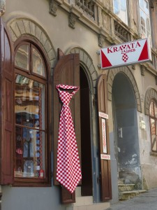 Shop in Old Town, Zagreb