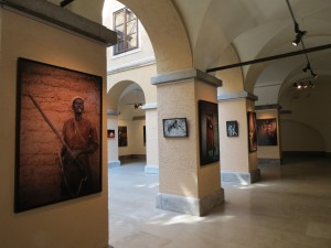 Photographs tastefully displayed in the City Hall