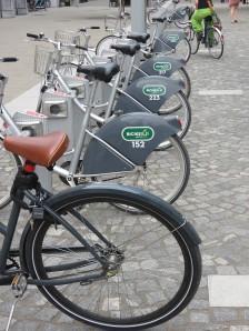 Bikes in Ljubljana, Slovenia
