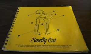 Cover of the Smelly Cat menu