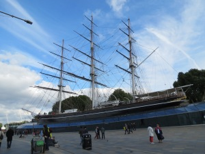 The Cutty Sark Museum Ship