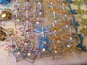 Lovely beaded butterflies for sale