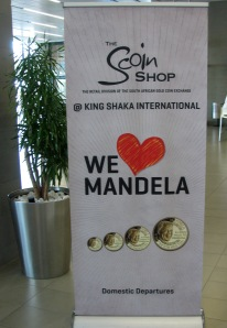 Sign seen at Durban Airport
