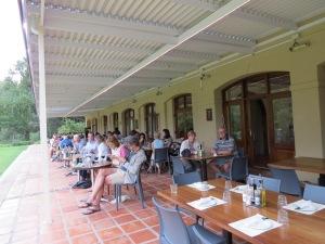 Cafe verandah