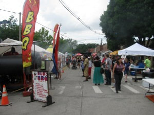 One of the Vendor Alleys