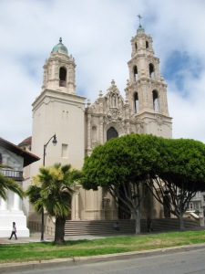 …the lovely Basilica, rebuilt after the 1906 earthquake