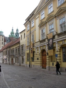 The street and house in Krakow where Pope John Paul lived 1951-1967