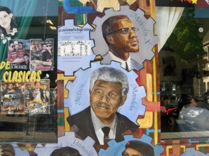 Way before his data, our beloved Mandela earned a spot on this mural
