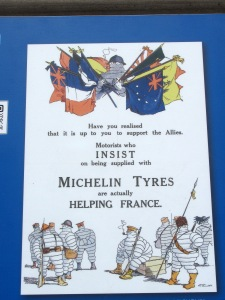 A fun Michelin ad from WW1 times
