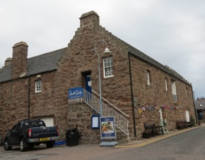 The Tollbooth Museum in Stonehaven on the edge of the small harbor