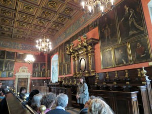 The ornate Aula Hall