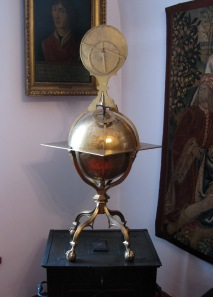 A celestial globe from 1480