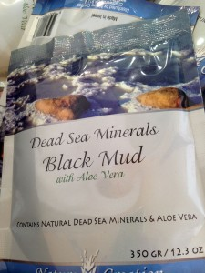 Black Mud from the Dead Sea