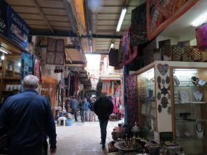 A market street