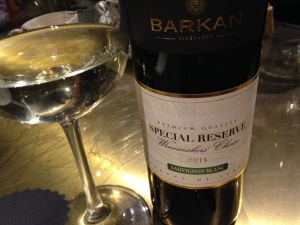 A great Israeli white wine