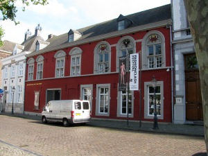 The former Spanish Government Building, now a museum, on Vrijthof