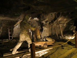 Another mining scene underground at Wieliczsak
