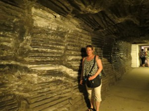 A wall of salt, Wieliczska
