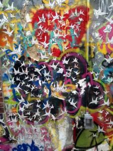 alleypapercranes